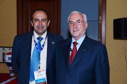 Con F. Polzler Presidente de RE/MAX Europa