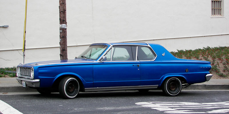 California Streets: Daly City Street Sighting - 1966 Dodge Dart GT