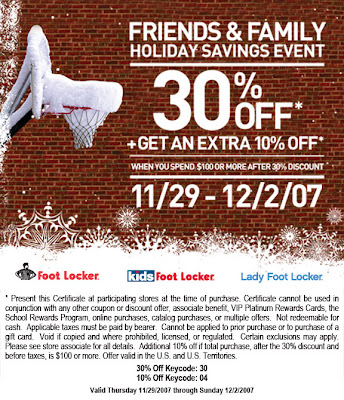 Foot locker printable coupons december 2019