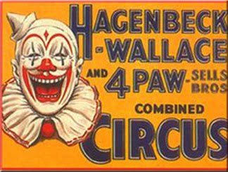 Posters Like These Were Supposed To Make People Want Go The Circus Gee I Can Hardly Wait Blech Many Say It Was Economy That Killed Off