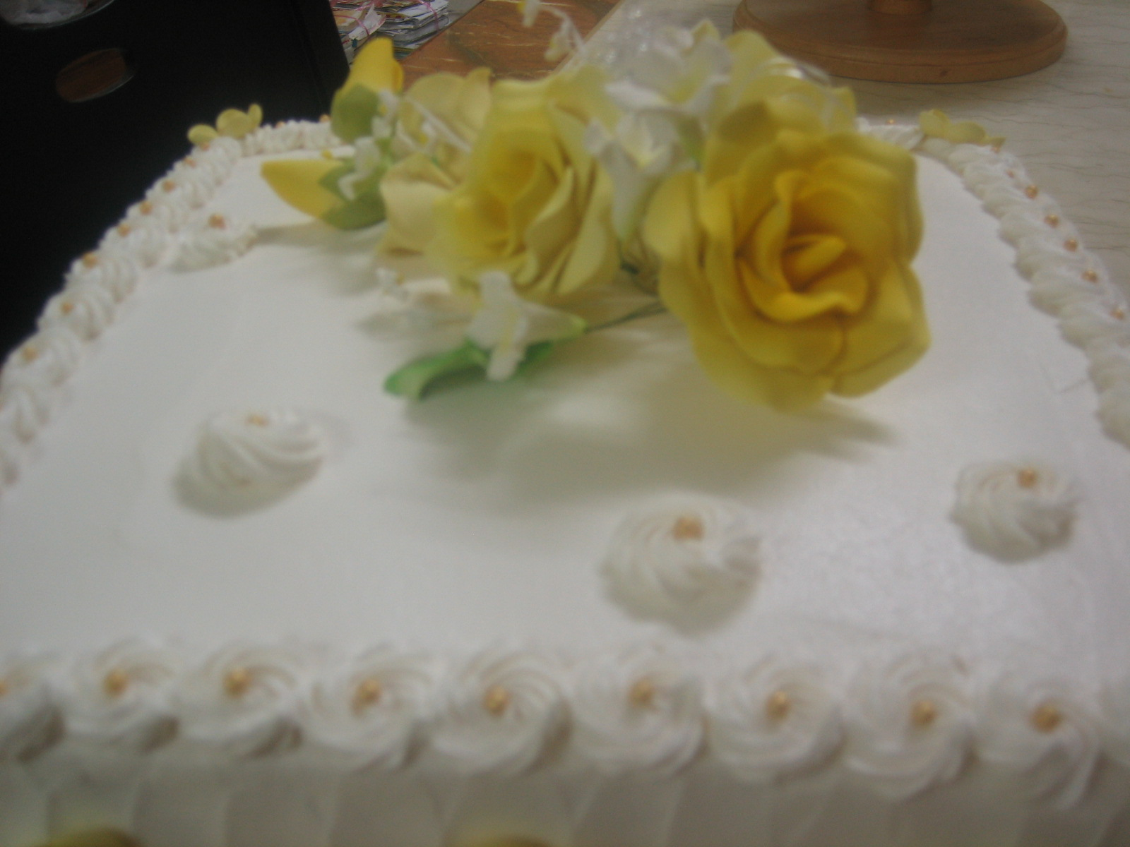 Homemade sweet treats Wedding cake delivered to Tg