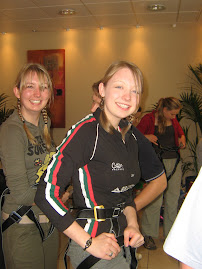 Abseil for MDC Laura & Louise
