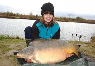 record carp abbey lakes 2009