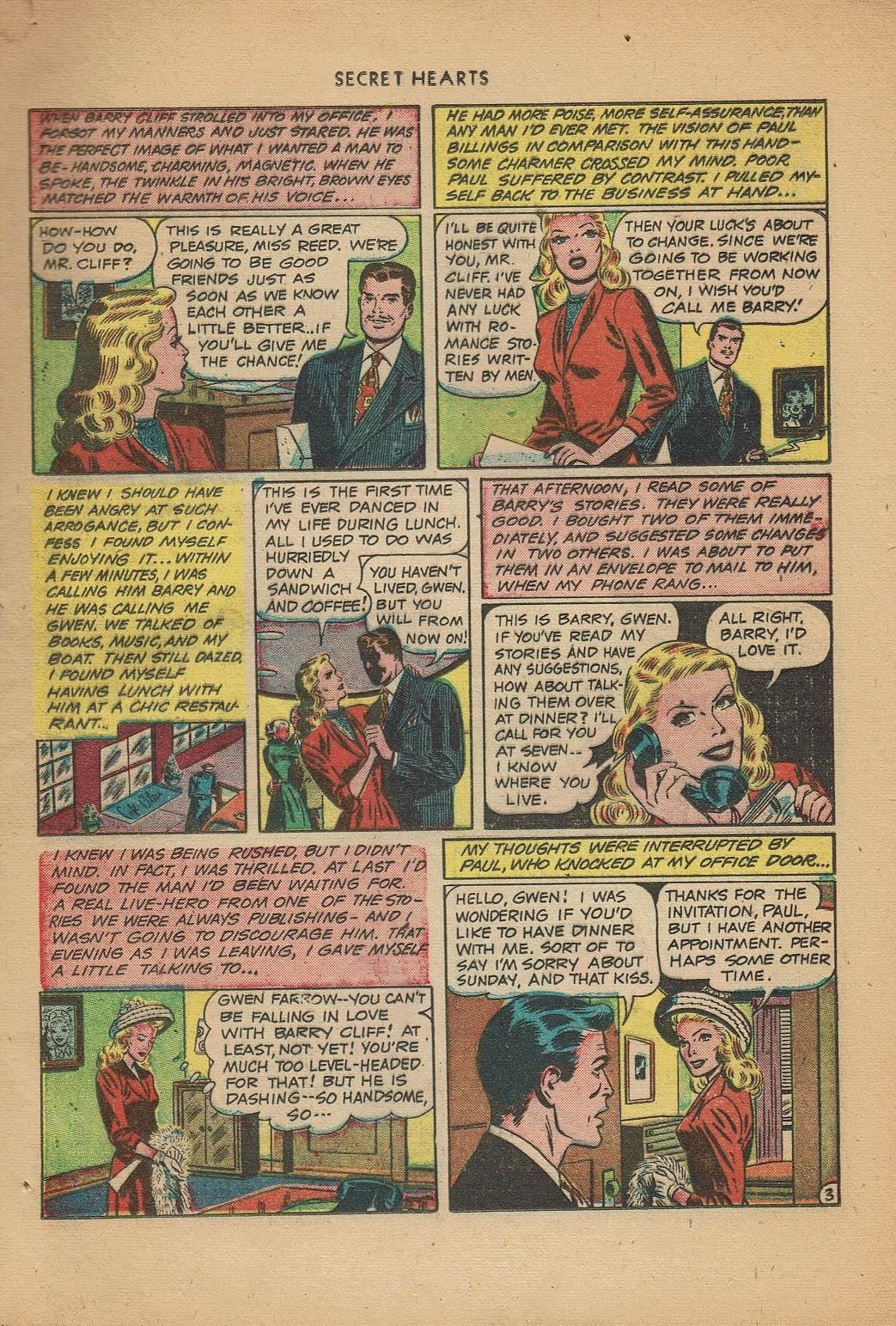 Read online Secret Hearts comic -  Issue #2 - 5