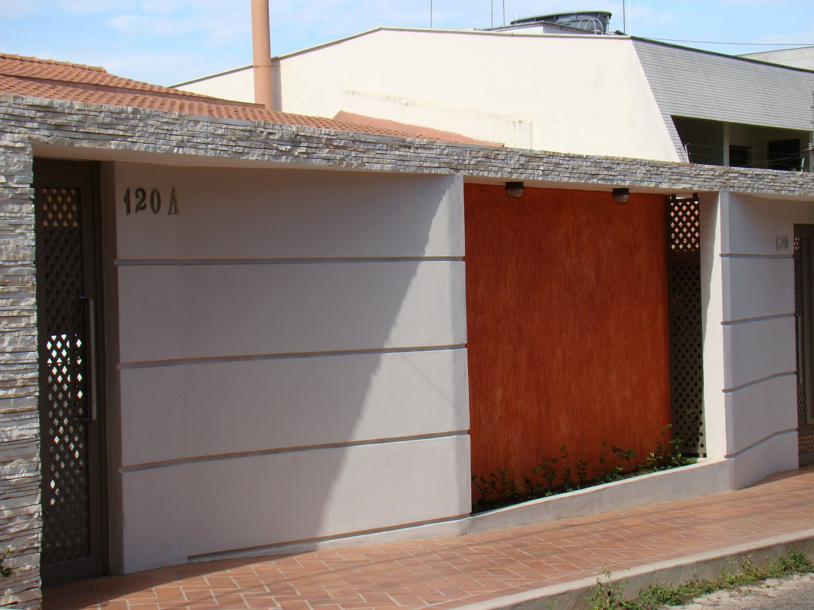 Fachadas de muros residenciais – Fotos e dicas