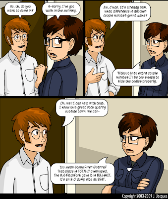 Questionable Content - Hide the bodies