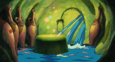Ponyo Floods the Pangea Room