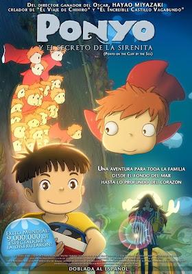 Poster - Ponyo in Latin America (El Secreto de la Sirenita)