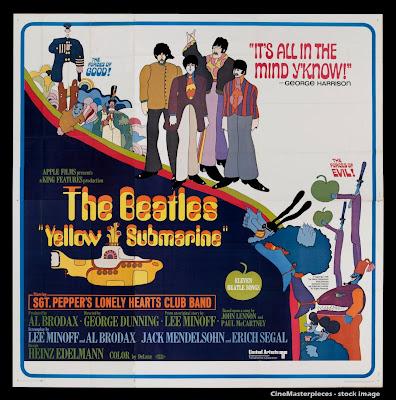 Poster - The Beatles' Yellow Submarine