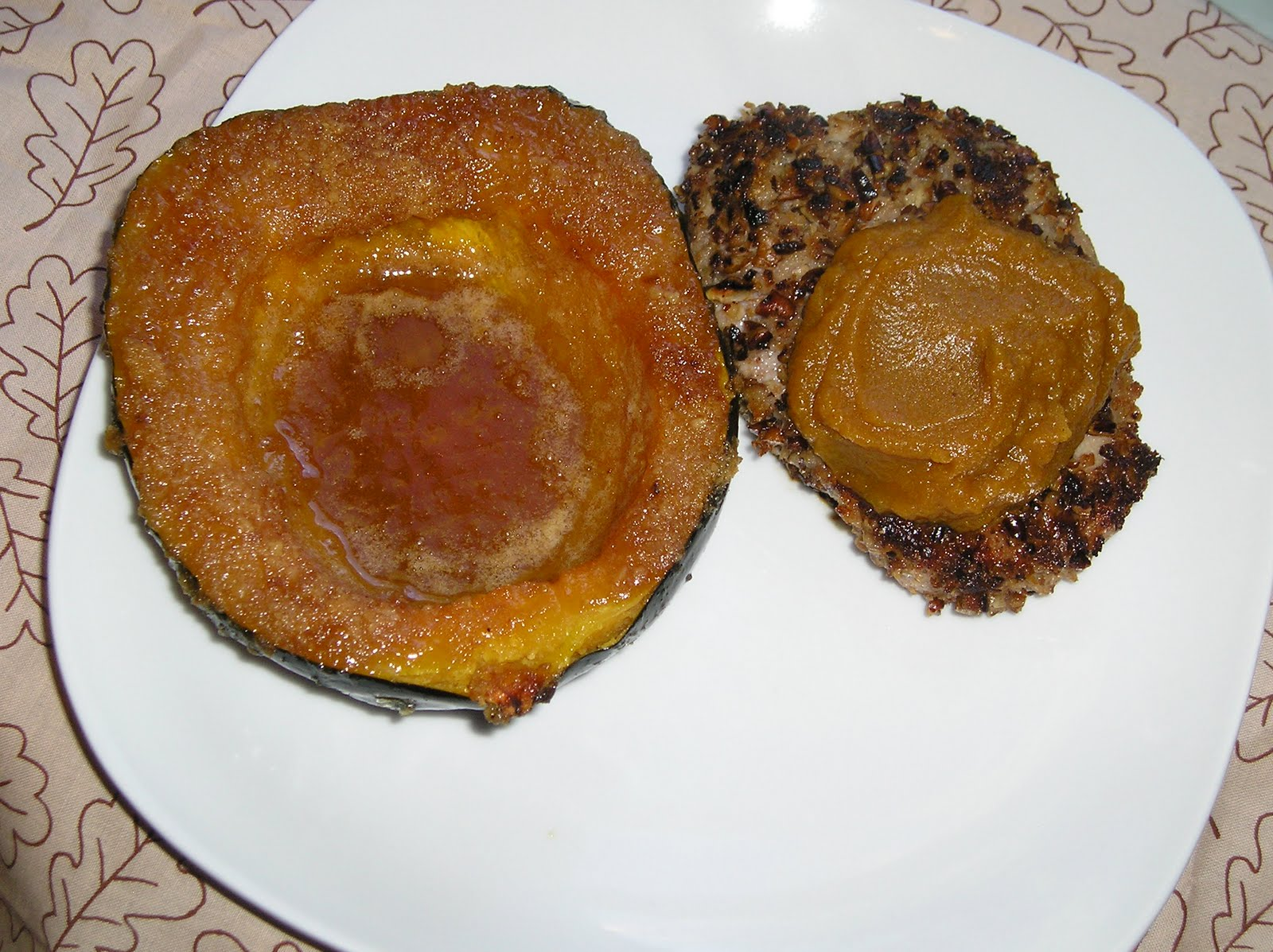 Pecan Crusted Pork Chops with Pumpkin Butter ~ Edesia's Notebook