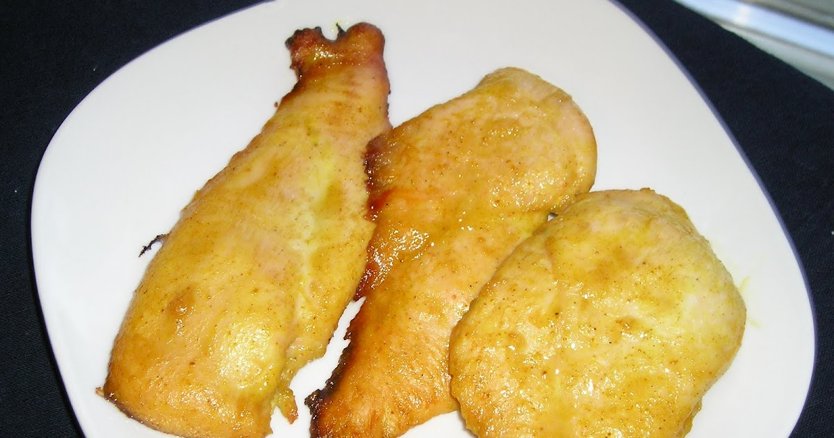 Curried Honey Baked Chicken ~ Edesia's Notebook