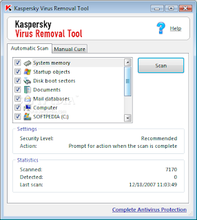 Kaspersky Virus Removal Tool baixebr Detecte e remova vrus com Kaspersky Virus Removal Tool | Atualizao: 26/Junho/2009 dicas antivirus 