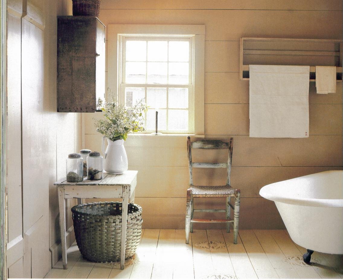 Country style bathroom decor best home ideas - Salle de bain style shabby ...