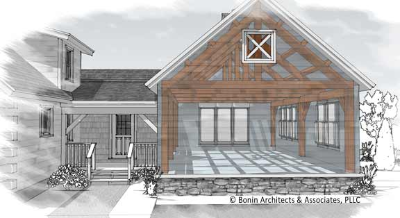 Log Home Additions Plans
