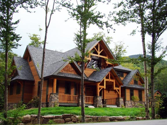 Post and beam timber frame blog custom timber home Timber house