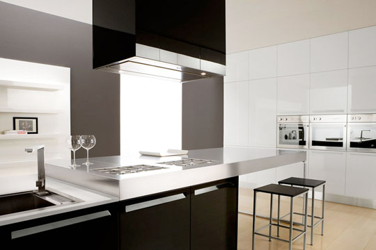 Wonderful Black and White Kitchen Interiors 540 x 360 · 30 kB · jpeg