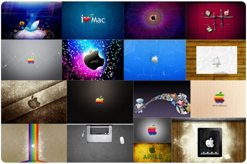 17 Wallpapers muy creativos para fans de Apple Mac