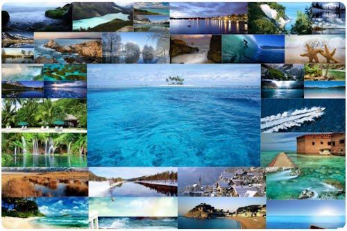 A través de las aguas cristalinas (Mayo Mes del Mar)