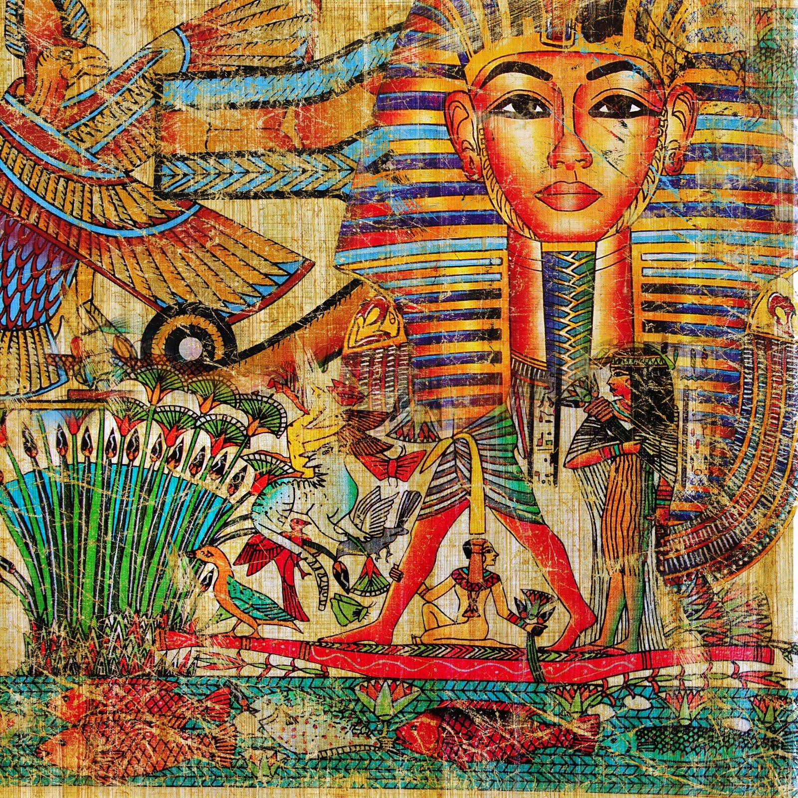 Banco de im genes para ver disfrutar y compartir for Ancient egyptian mural paintings