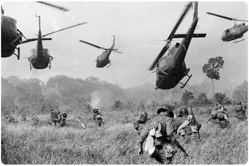 La Guerra de Vietnam (23 imágenes en Blanco y Negro)