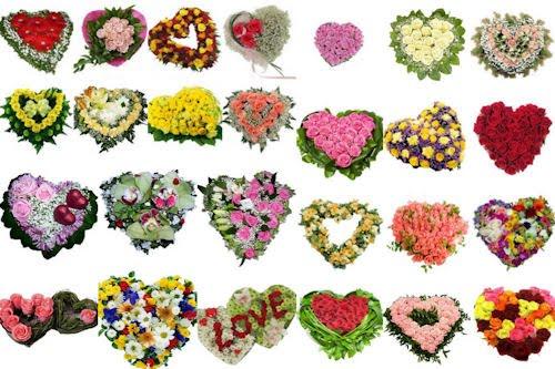 Flores y corazones para el Día de las Madres (26 arreglos florales)