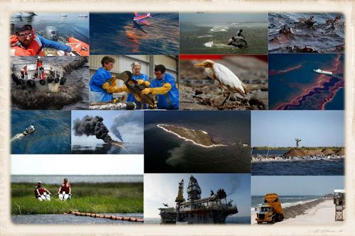El desastre se desarrolla lentamente en el Golfo de México