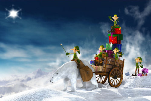 Especial de Navidad y Fin de Año (Dibujos Animados) | Banco de ...