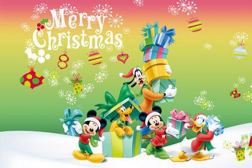 Dibujos animados de Disney para Navidad y Fin de Año
