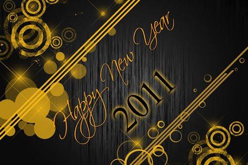 Wallpapers para el año nuevo 2011 (segunda parte)
