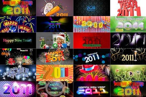 Wallpapers e Imágenes para el Año Nuevo 2011 con mensajes