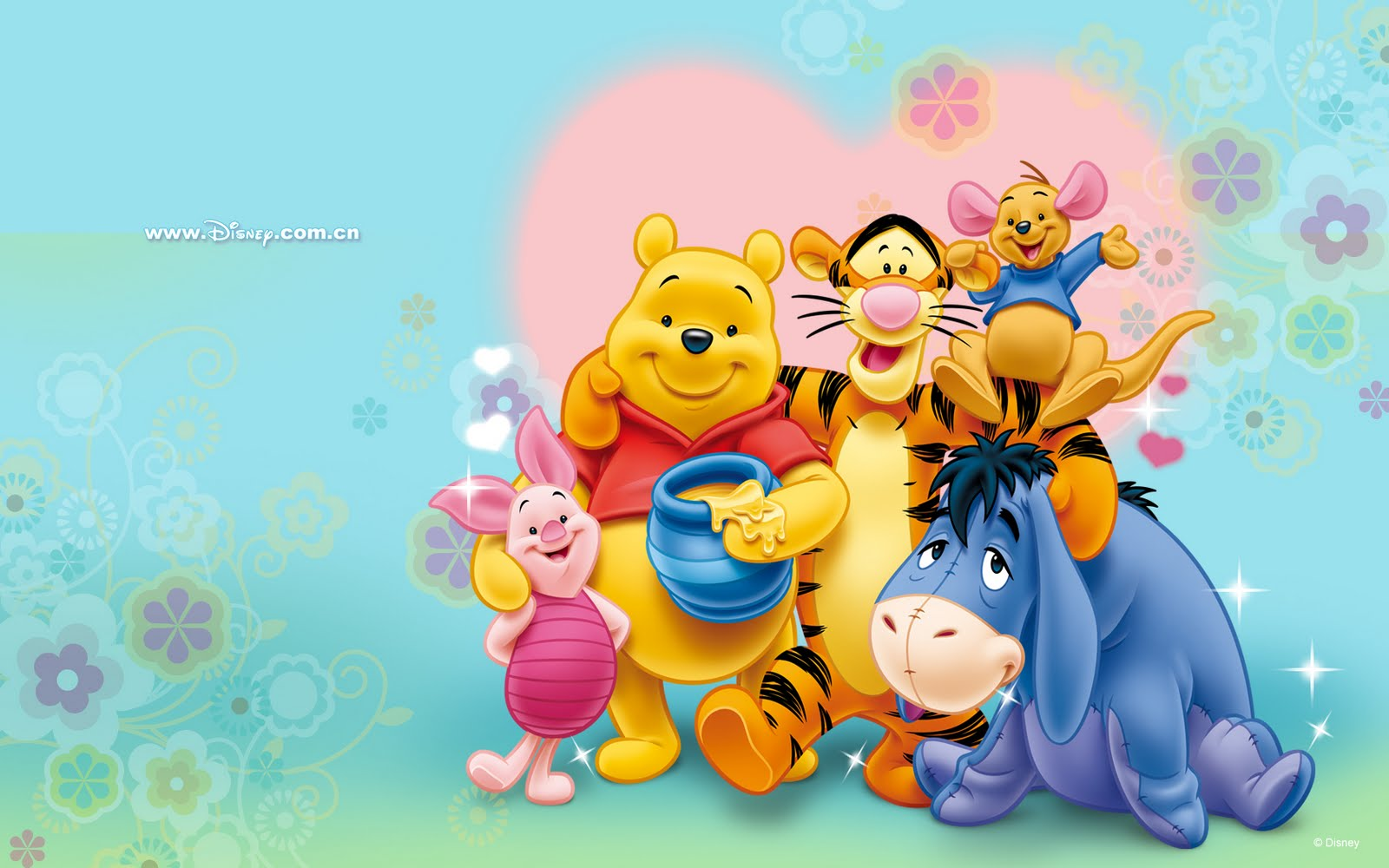 Wallpapers de Winnie Pooh by Disney I (8 imágenes)