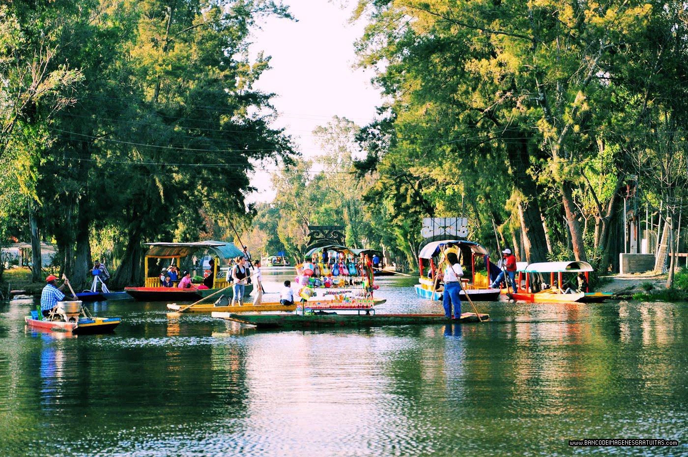 Banco de im genes para ver disfrutar y compartir for Jardin xochimilco