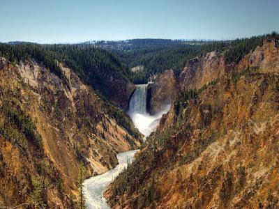 Paisajes Naturales - Nature Landscapes - Canyon Falls