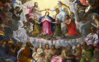 Imágenes, frescos y pinturas católicas