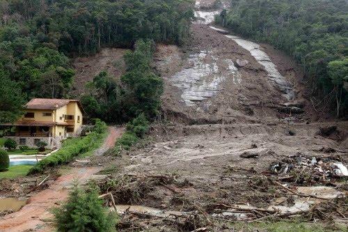 Deslizamientos de tierra en Brasil (X fotografías del desastre)