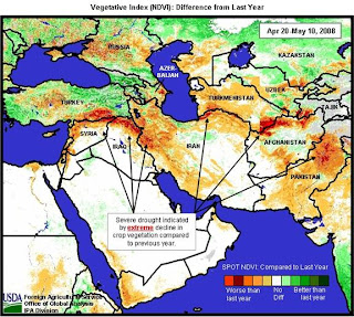 Middle East and Central Asia suffering worst droughts in recent