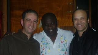 Karim Benamor, Basile Boli et Ridha Bouguezzi, le Directeur de RTCI