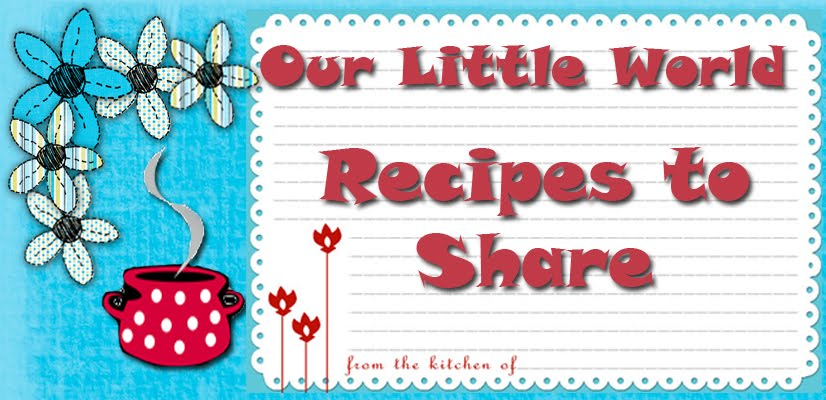 OLW- Recipes to Share