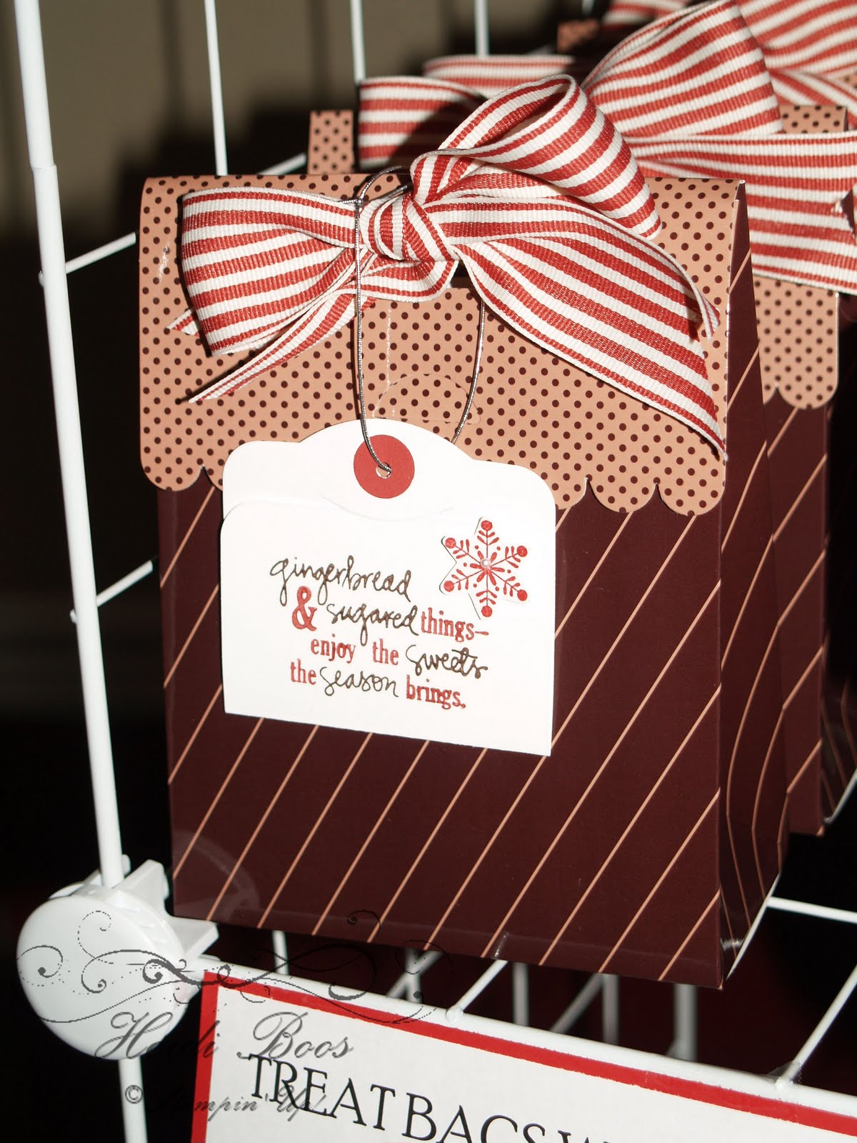 Christmas Crafts To Sell At Bazaar : Stuck on stampin craft bazaar round up