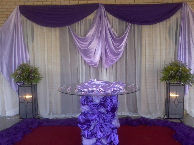 decoracao branco e lilas para casamento:Raissa Festas e Decorações: Casamento Lilás.