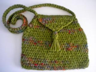 Crochet Tassel Bag : Wind Rose Fiber Studio: Crochet Tassel Bag ~ Crocheting for Fun!