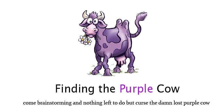 Finding the Purple Cow
