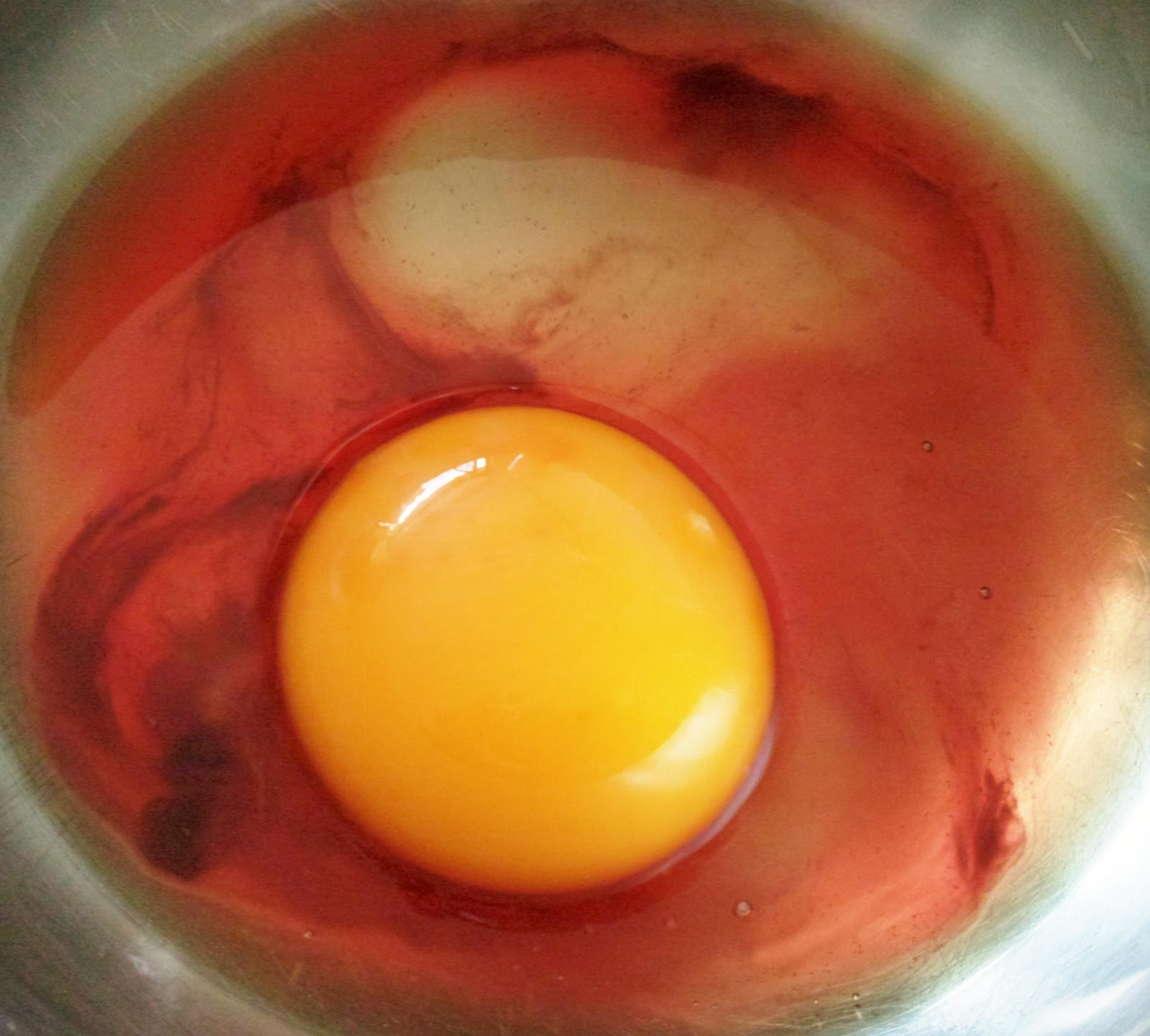 Life is Like a Long Journey: RED Egg White!!!