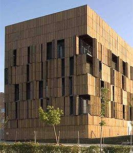 Casa de bambú en Carabanchel