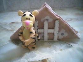Tiger porta servilletas