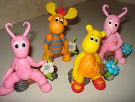 personajes de backyardigans