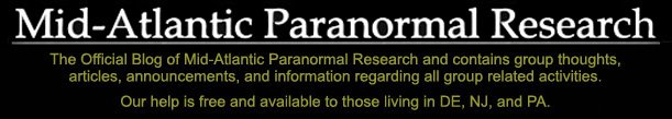 Mid-Atlantic Paranormal Research