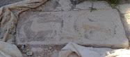 SE BUSCA Lápida de los Cervelló ROBADA del monasterio de Vallsanta.