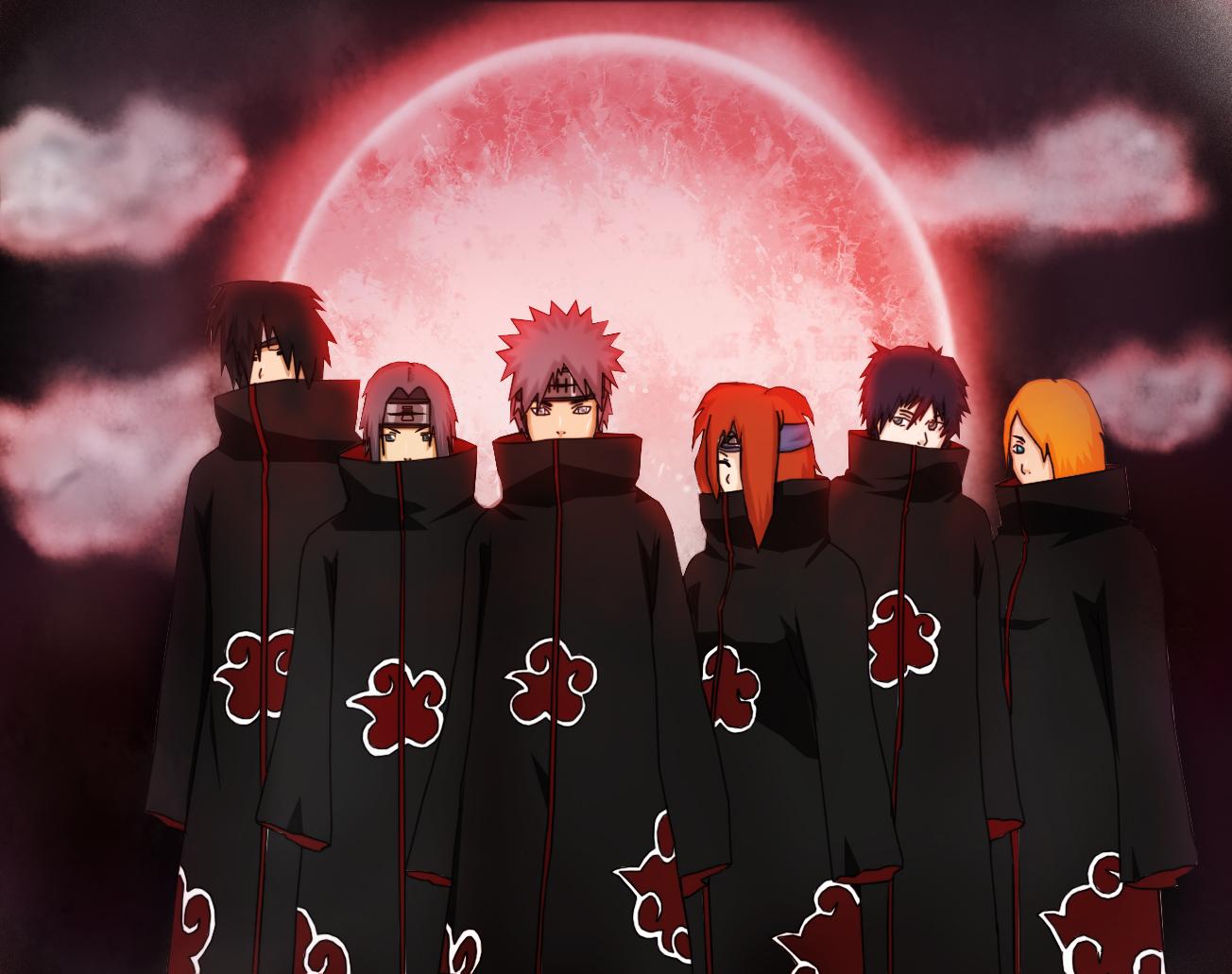 akatsuki todos los miembros
