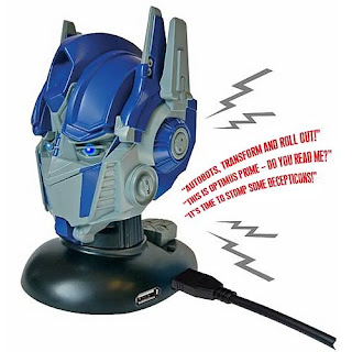 Transformers USB Gadget Talking Optimus Prime USB Hub